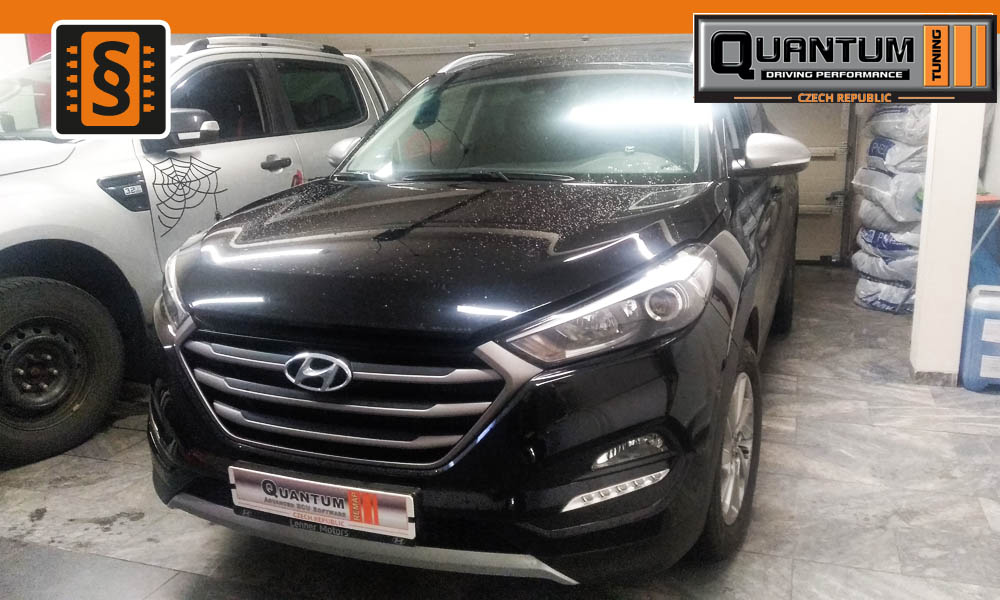 Reference Praha Chiptuning Hyundai Tucson 1.6T-GDi 130kw (177hp)