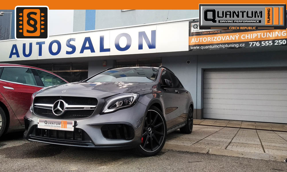 Reference Praha Chiptuning Mercedes GLA 45 AMG 280kw (381hp)