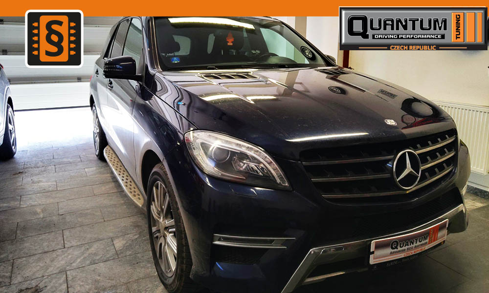 Reference Praha Chiptuning Mercedes GL 350CDi 190kw (258hp)