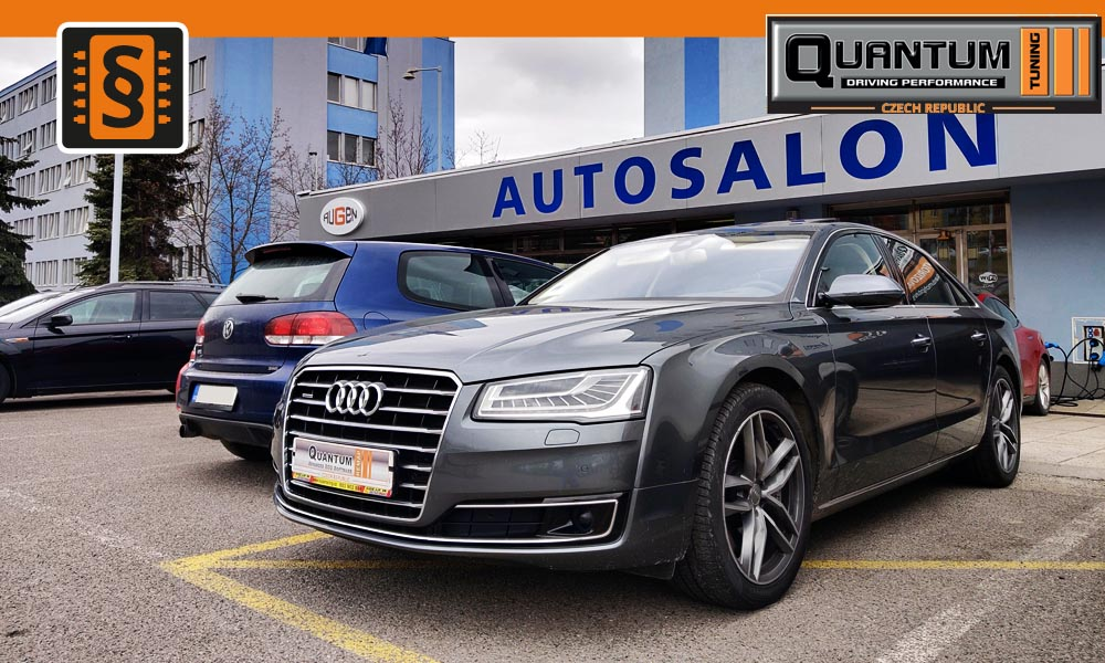 Reference Praha Chiptuning Audi A8 4.2TDi 283kw (385hp)