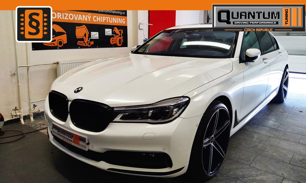 Reference Praha Chiptuning BMW 7 40Ld 235kw (320hp)