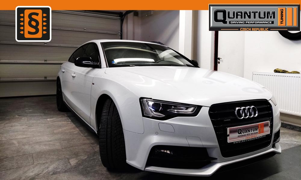 Reference Praha Chiptuning Audi A5 2.0TDi 140kw (190hp)