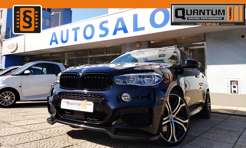 Reference Praha Chiptuning BMW X6 M50d 280kw (381hp)