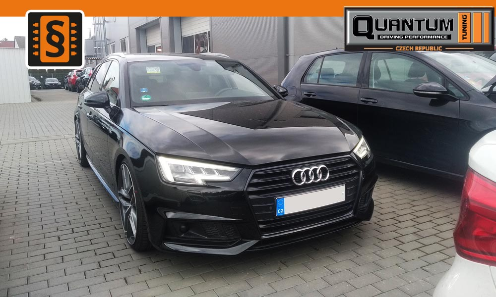 Reference Olomouc Chiptuning Audi A4 2.0 TDI 140kw (190hp)