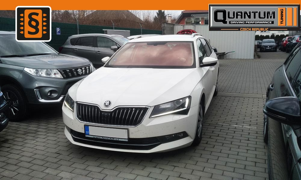 Reference Olomouc Chiptuning Škoda Superb III 2.0TDi 140kw (190hp)