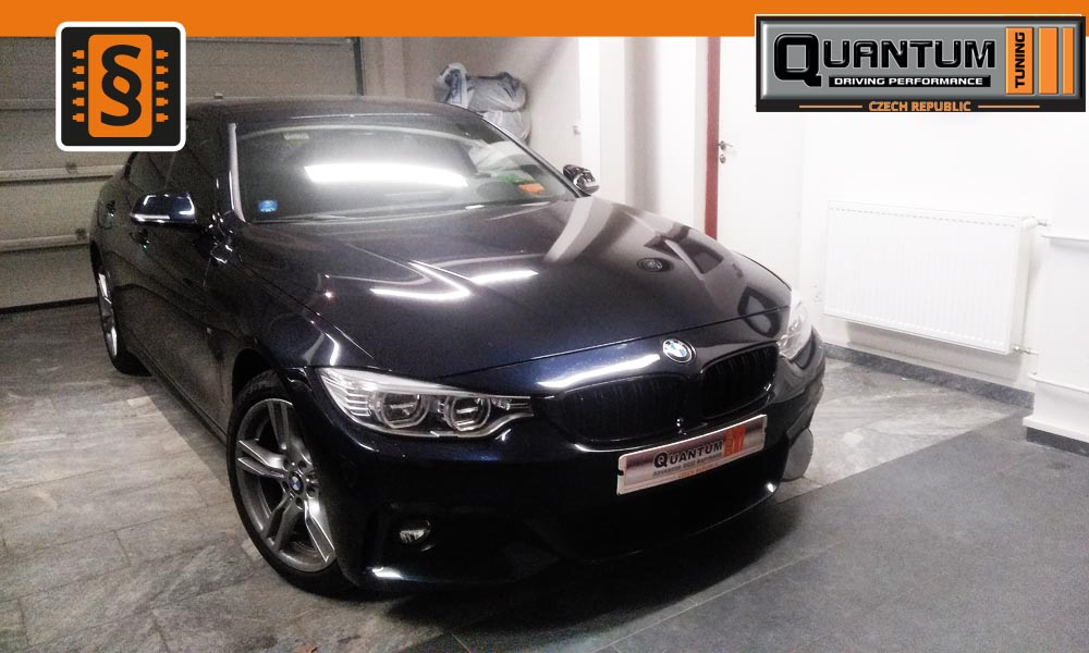 Reference Praha Chiptuning BMW 420d 135kw (184hp)
