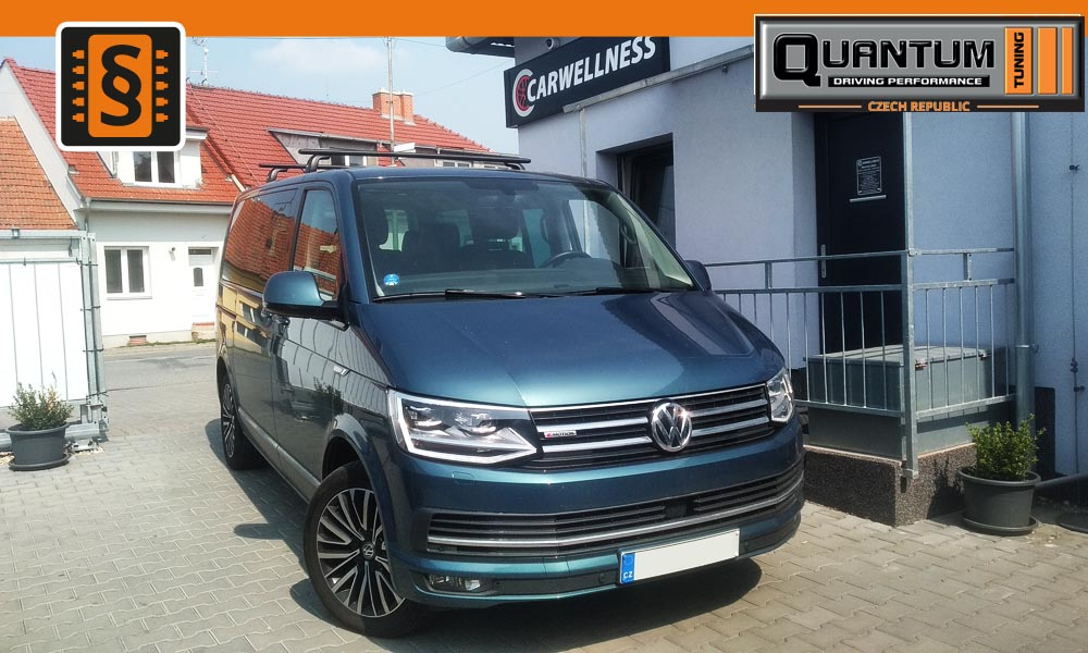 Reference Brno Chiptuning VW T6 2.0TSi 150kw (204hp)