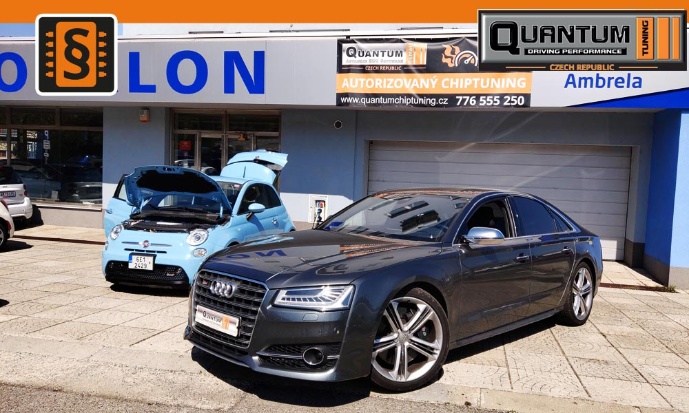 Reference Praha Chiptuning Audi S8 4.0TFSi 382kw (520hp)