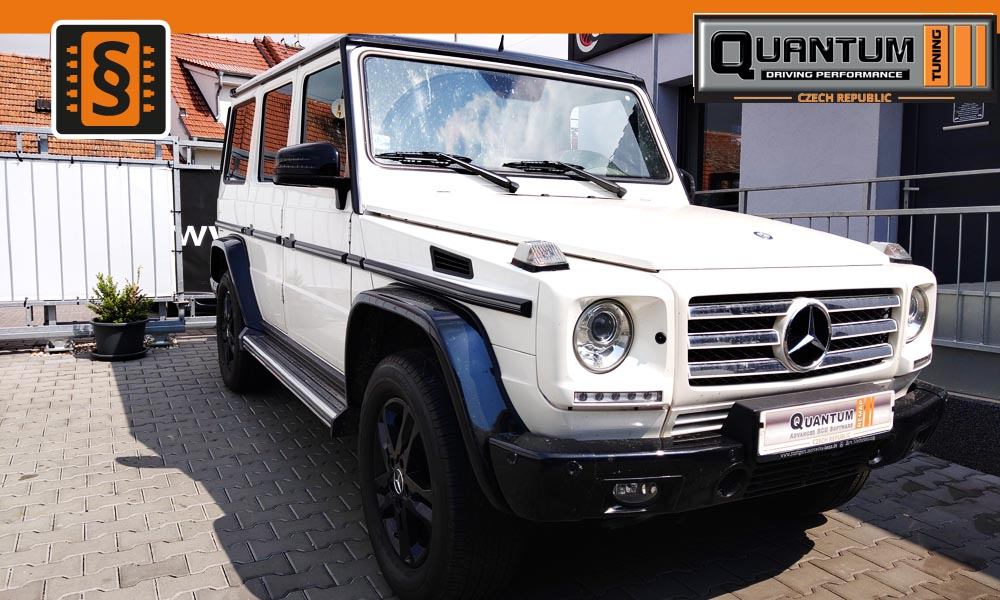 Reference Brno Chiptuning Mercedes G 350CDi 155kw (258hp)