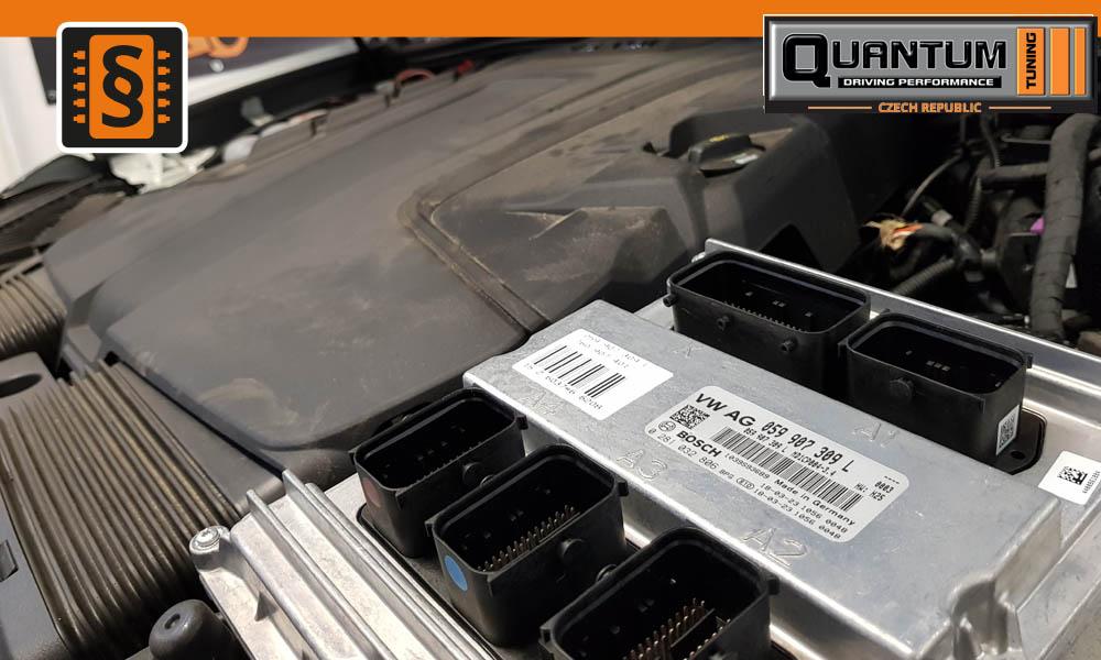 Chiptuning VW Touareg 3.0TDi 210kw