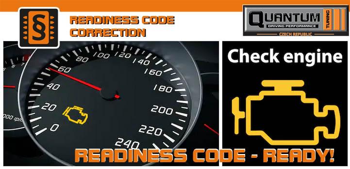 Readiness kód - kontrola - oprava