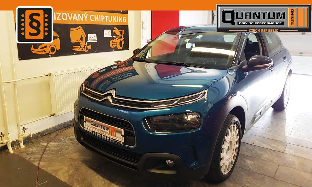Reference Quntum Praha Chiptuning Citroen C4 Cactus 1.2THP Puretech