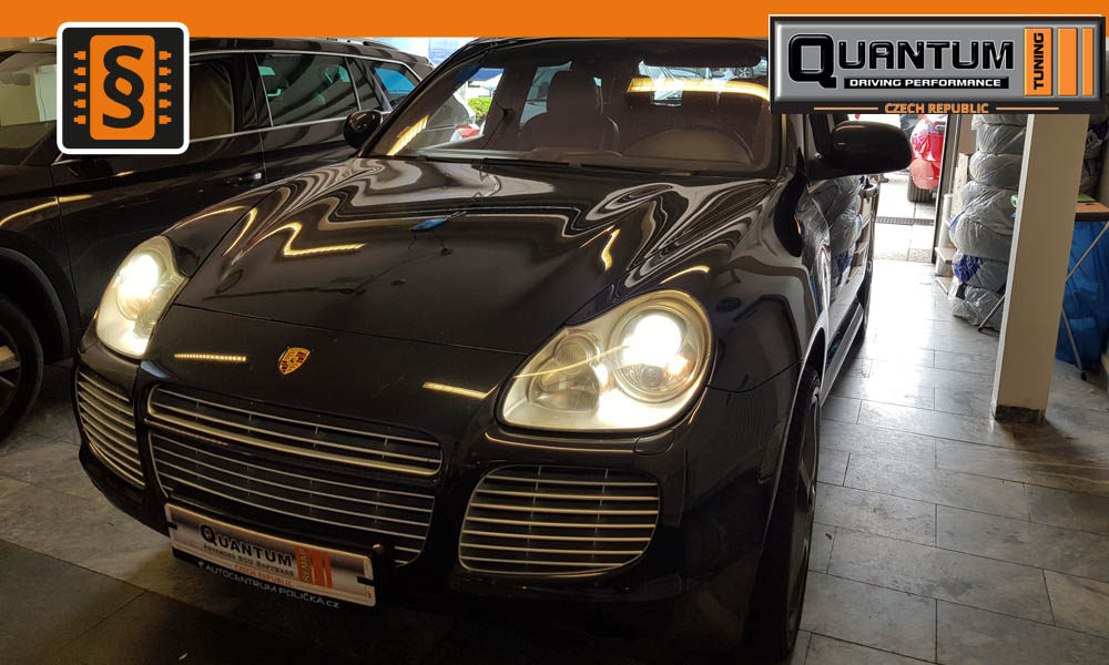 Reference Quntum Praha Chiptuning Porsche Cayenne Turbo S 382kw