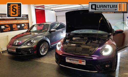 Reference Quntum Praha Chiptuning VW New Beetle 1.4TSi - 2.0TSi