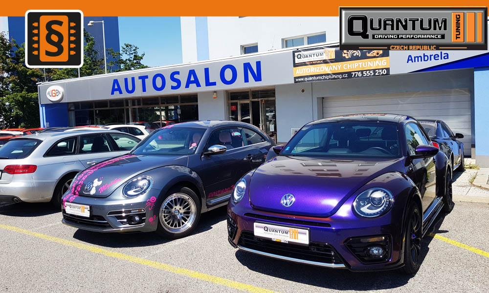 Reference Quntum Praha Chiptuning VW New Beetle 1.4TSi - 2.0TSi