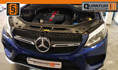 Reference Quntum Praha Chiptuning Mercedes GLE 43 AMG