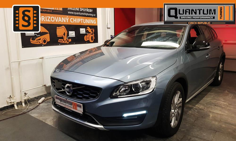 Reference Quntum Praha Chiptuning Volvo V60 2.4D4 139kw
