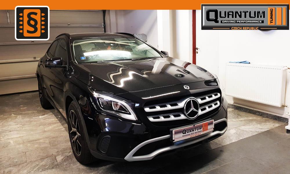 Reference Quntum Praha Chiptuning Mercedes GLA 200CDi 100kw