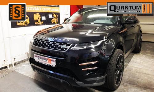 Reference Quntum Praha Chiptuning Land Rover RR Evoque 2.0TD4