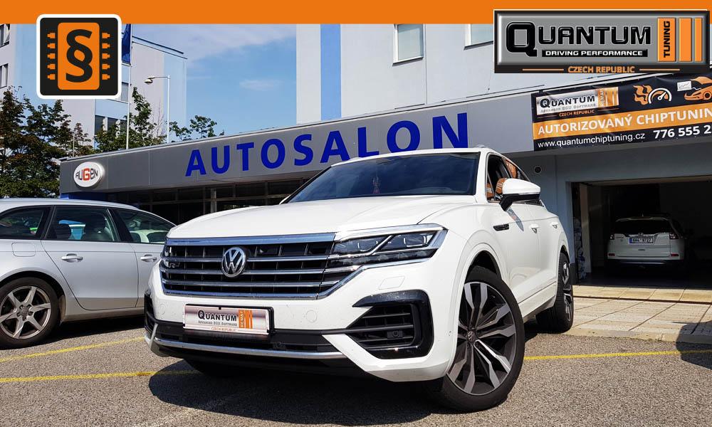 Reference Quntum Praha Chiptuning VW Touareg 3.0TDi 210kw MD1CP004