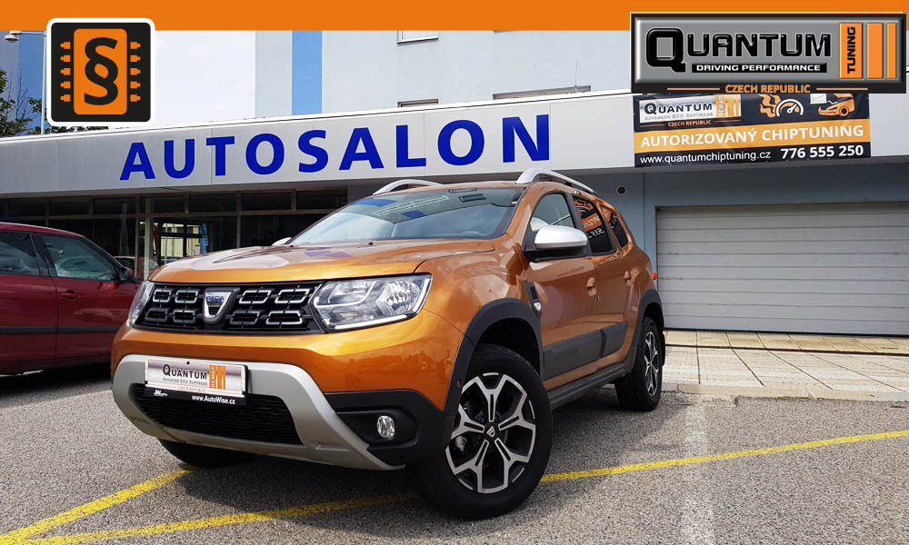 Reference Quntum Praha Chiptuning Dacia Duster 1.5 Blue DCi MD1CS006