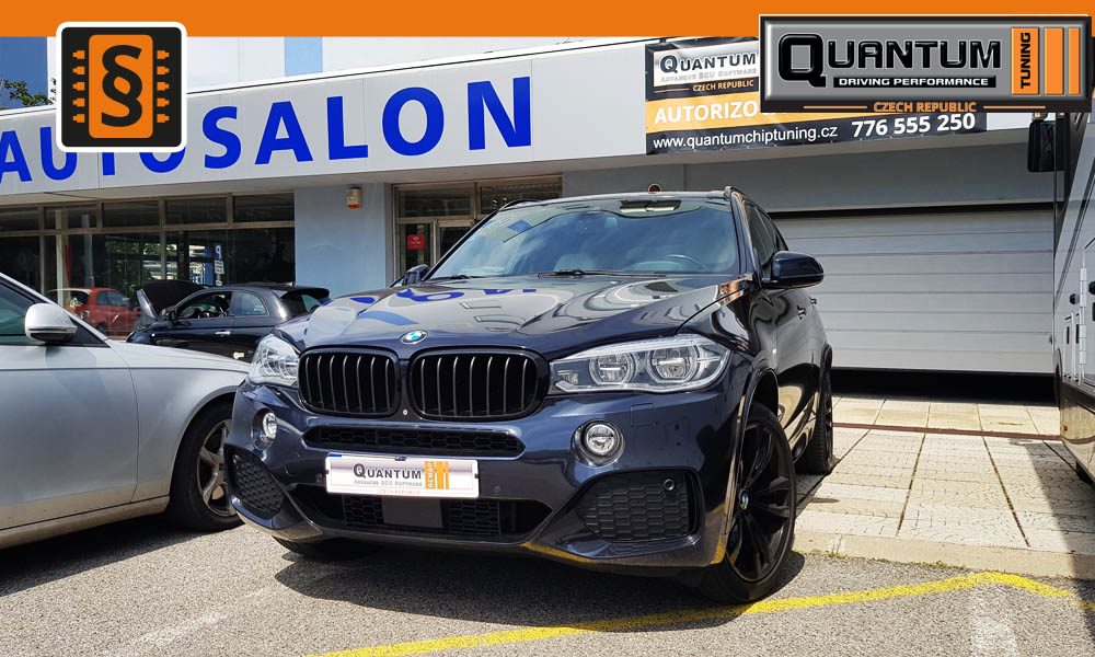 Reference Quntum Praha Chiptuning BMW X5 40d 230kw