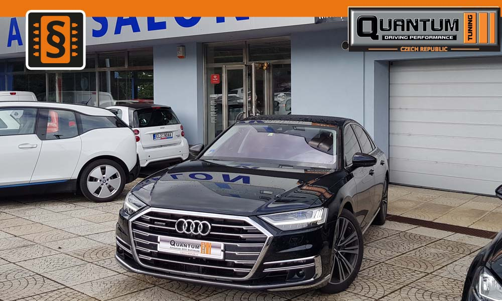 Reference Praha Chiptuning Audi A8 50TDi 210kw