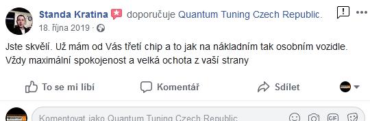 Quantum Chiptuning zkušenosti